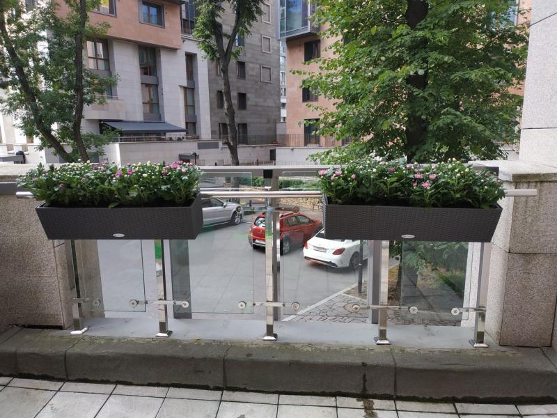 Озеленение балконов