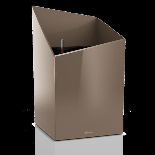 Купить Lechuza Cursivo 40 Серо-коричневый блестящий в СПб с доставкой